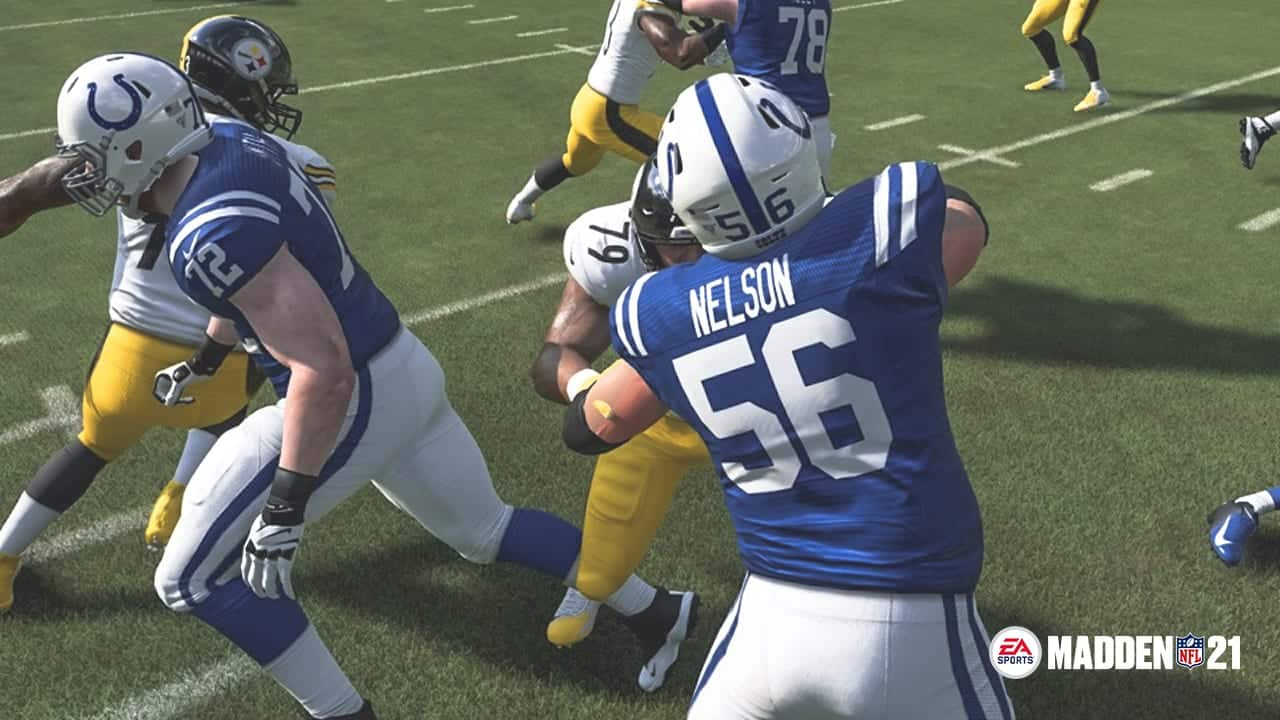 Madden 21 Analytics o line