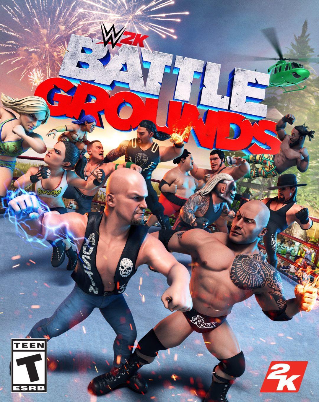 WWE 2K Battlegrounds Box