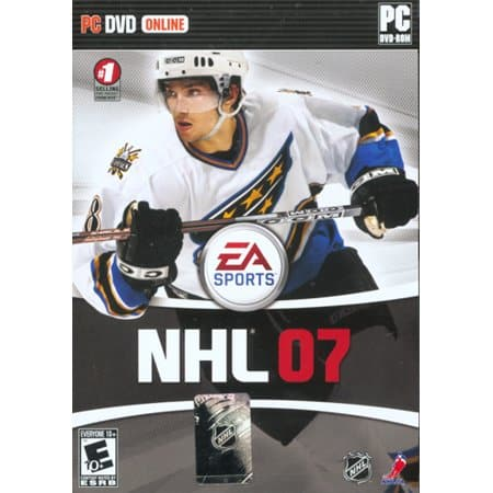 Ovechkin Cover NHL 07