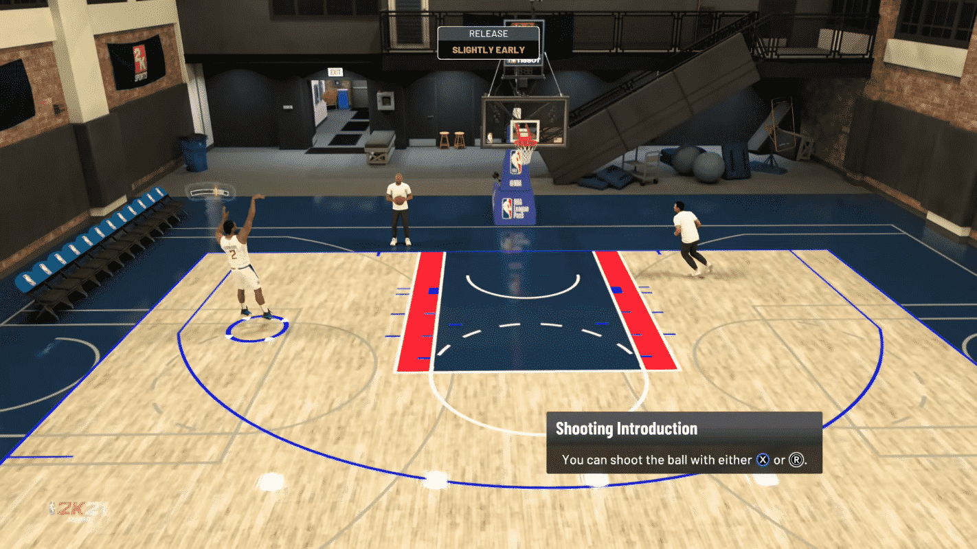 NBA 2K21 Shot Timer