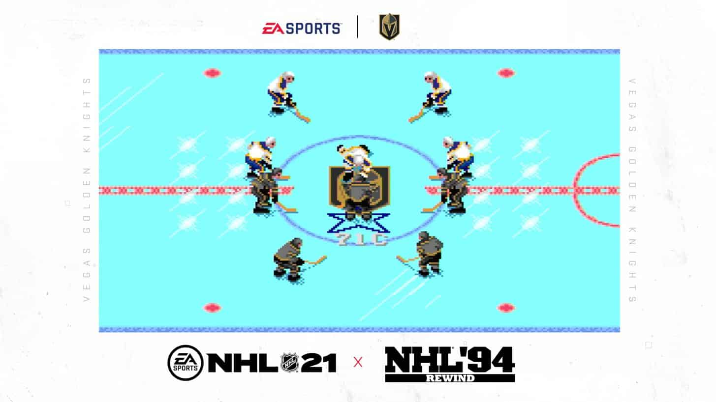 NHL 94 Rewind - Golden Knights