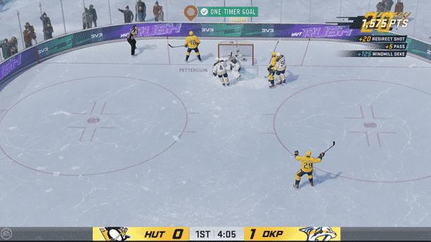 NHL 21 HUT Rush