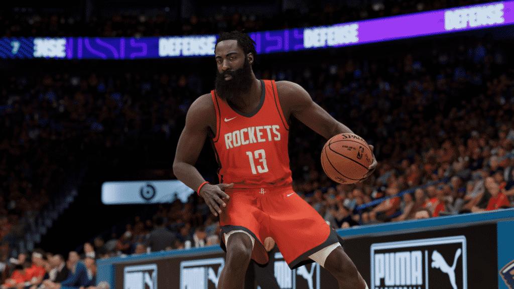 NBA 2K21 Stepback