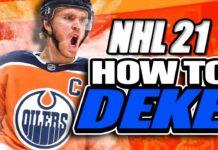 NHL 21 Dekes