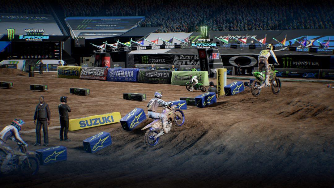 Monster Energy Supercross 4 review gameplay