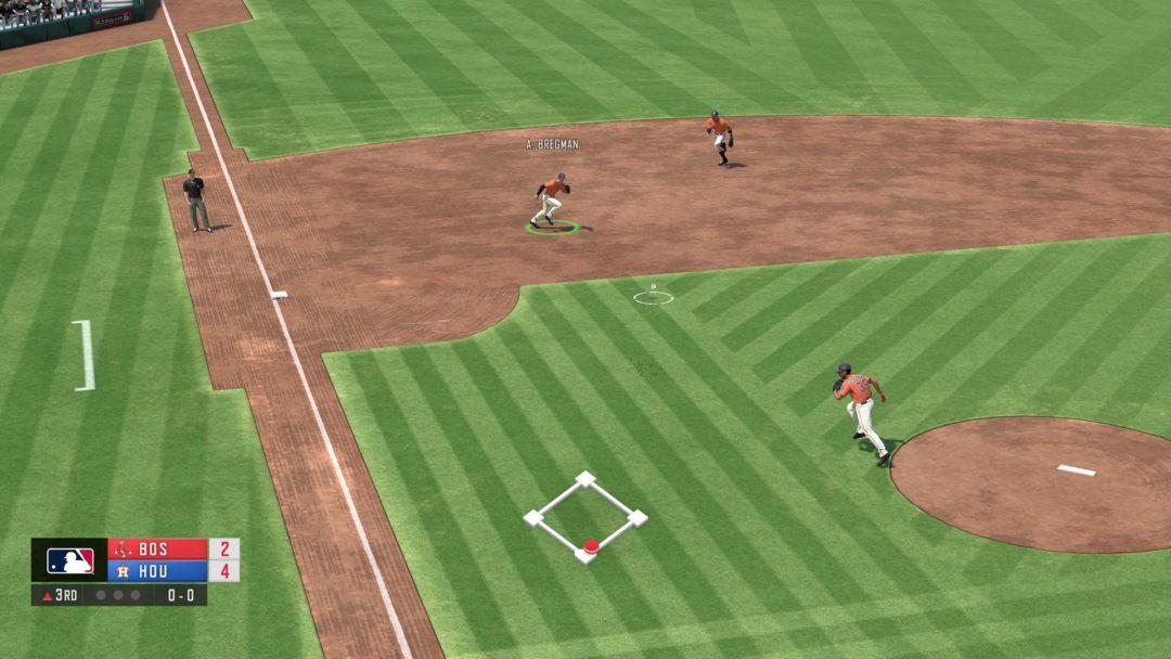 RBI Baseball 21 gameplay