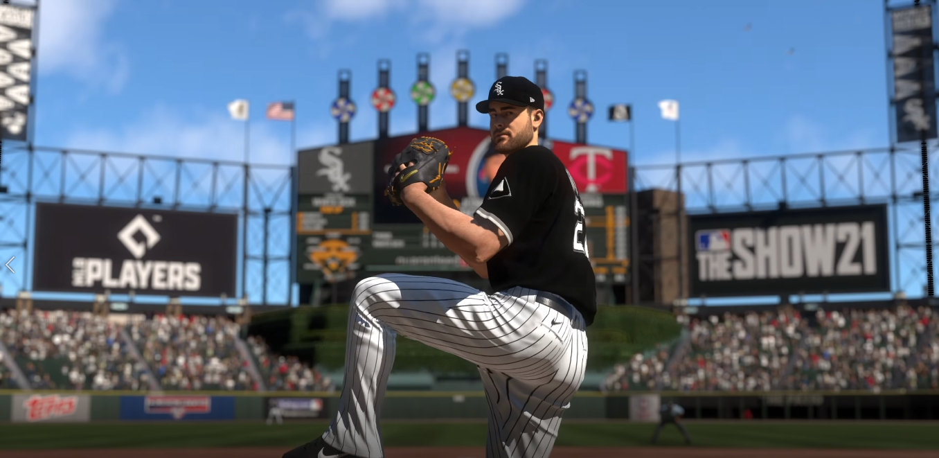 MLB The Show pitching