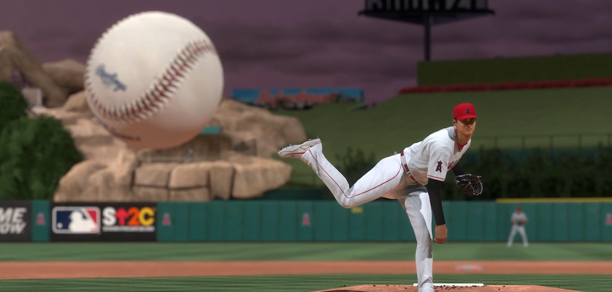 MLB The Show pitching simulation