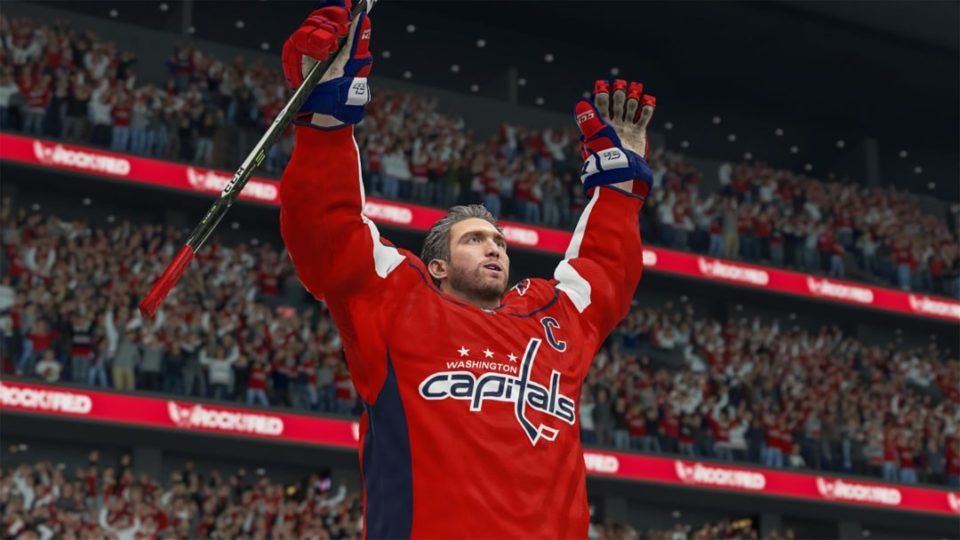 NHL 22 Frostbite Engine