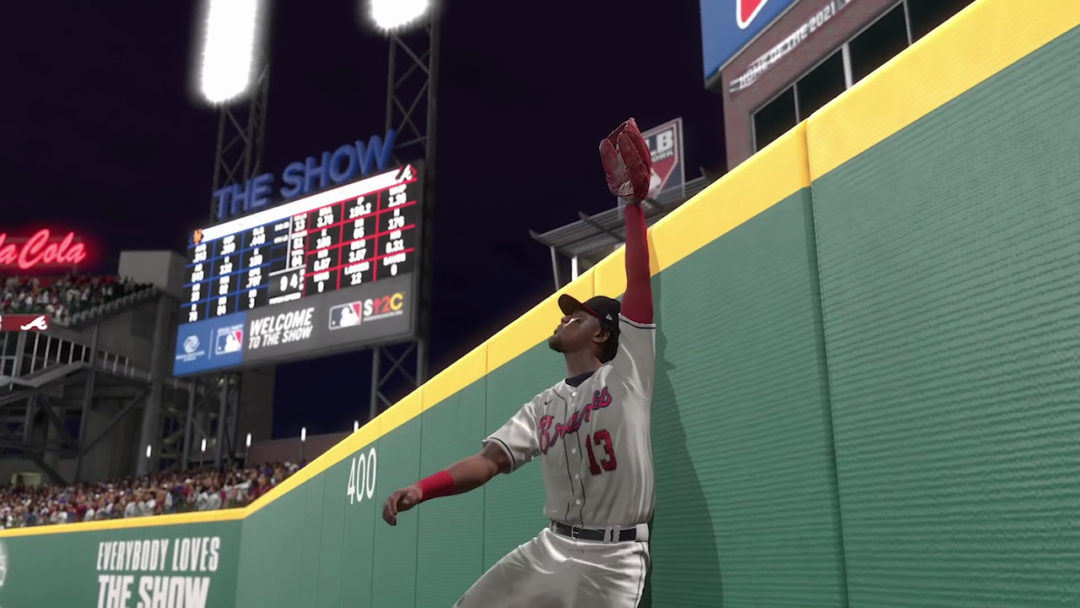 MLB The Show 21 Fielding