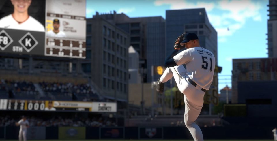 MLB The Show 21 pitching