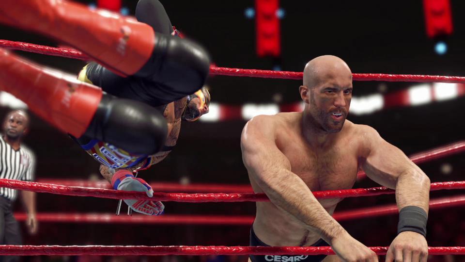 WWE 2K22 Development