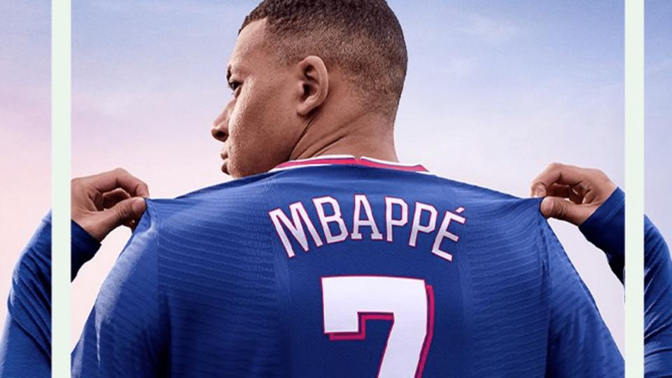 Kylian Mbappé FIFA 22 Cover