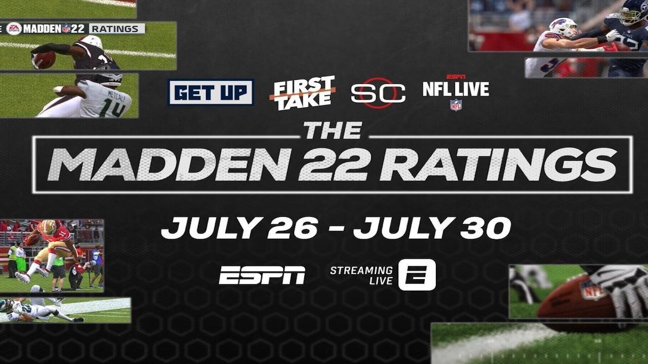 Madden 22 Ratings