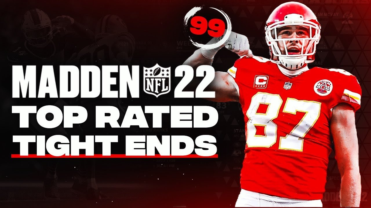 Madden 22 tight End ratings