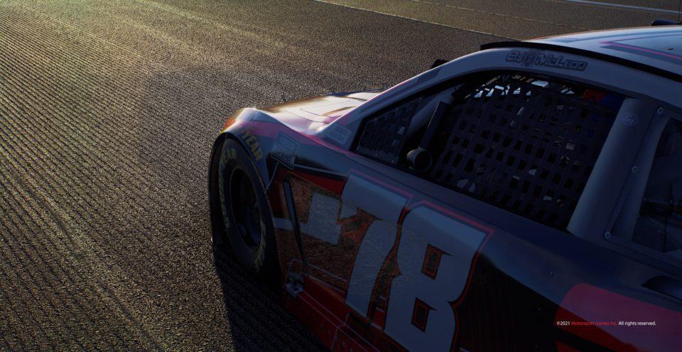 NASCAR 21 Paint Booth