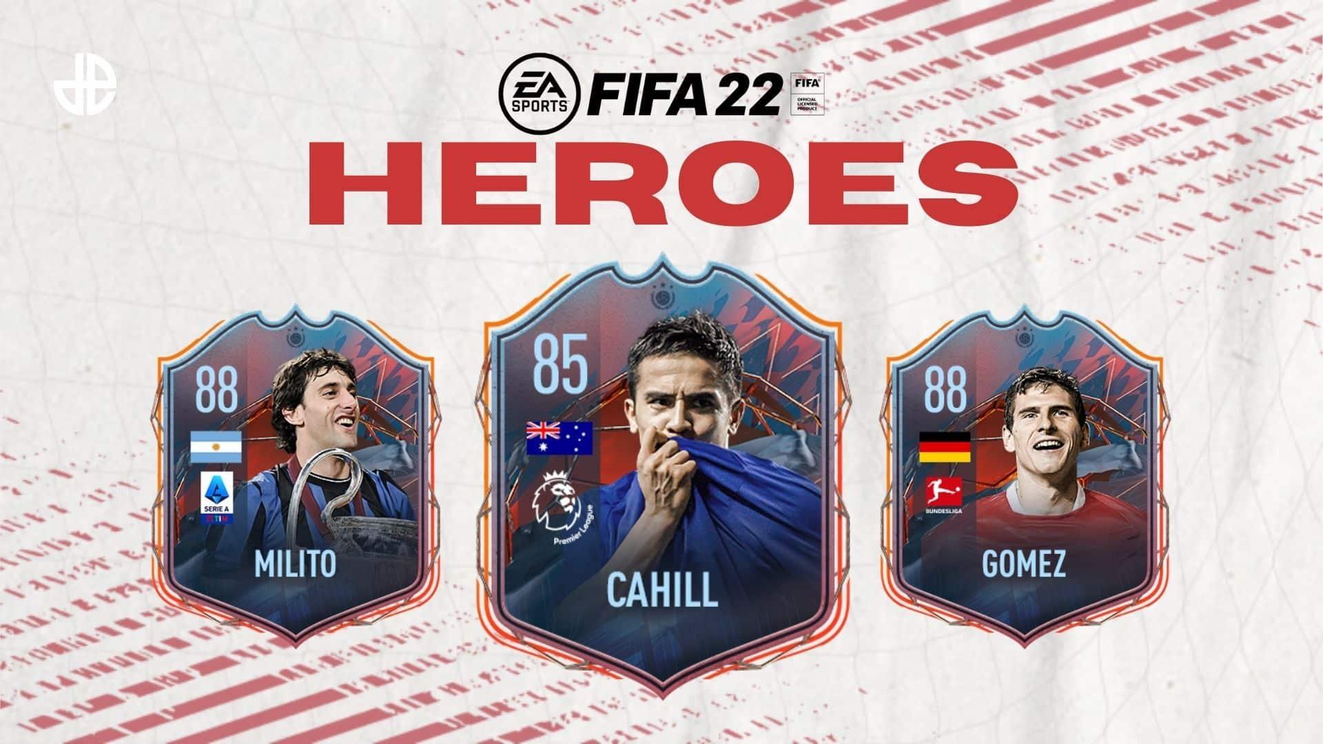 FUT heroes FIFA 22 Ultimate Team