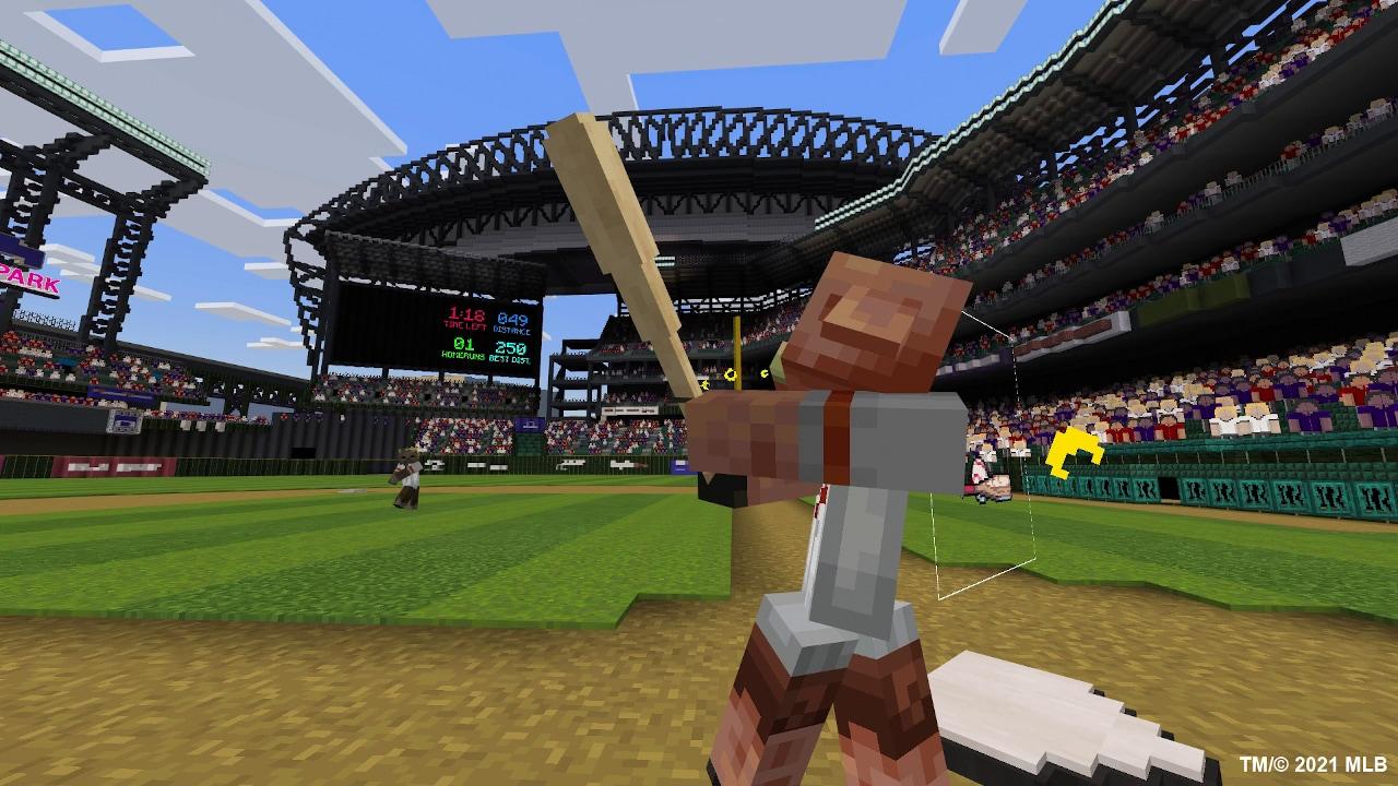 Minecraft MLB Home Run Derby