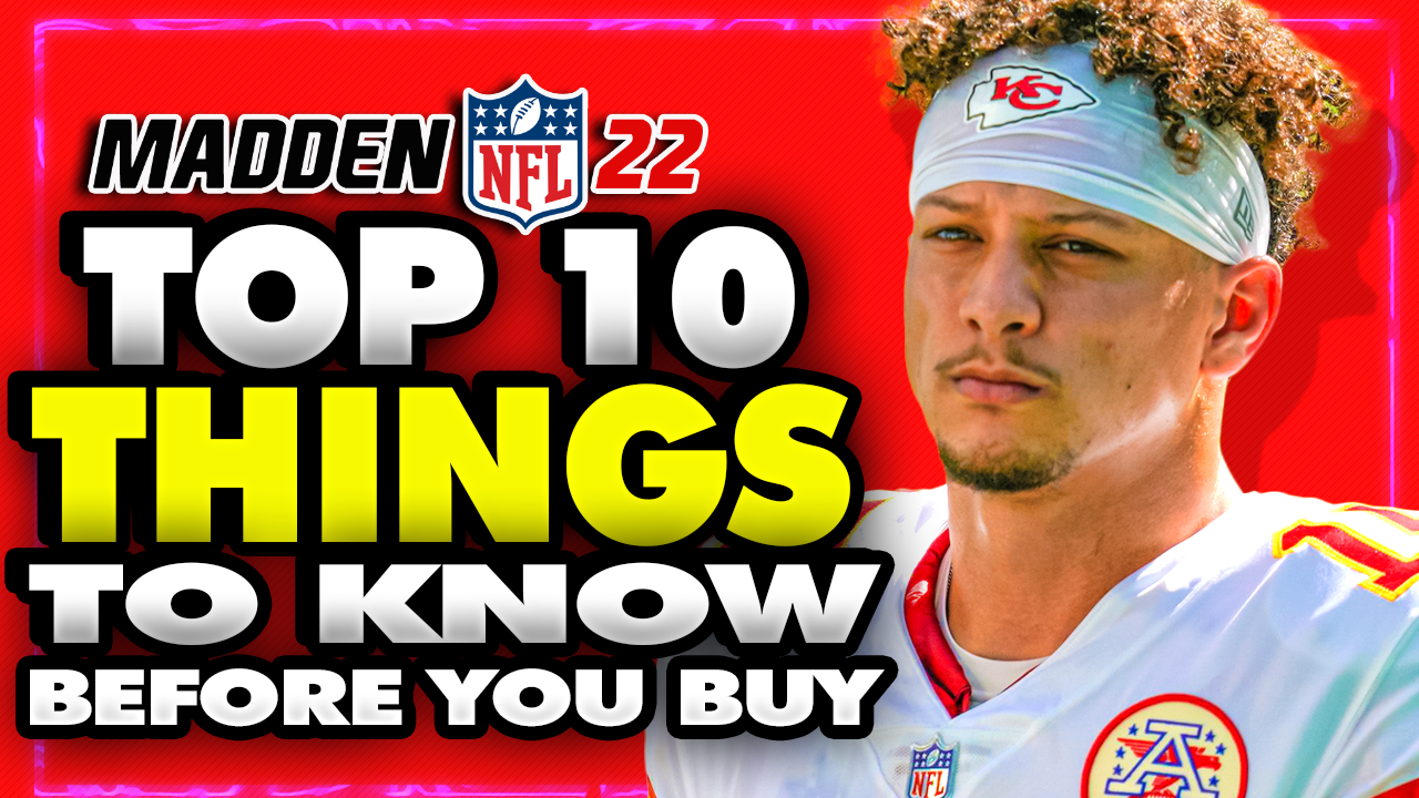 Madden 22 Before You Buy