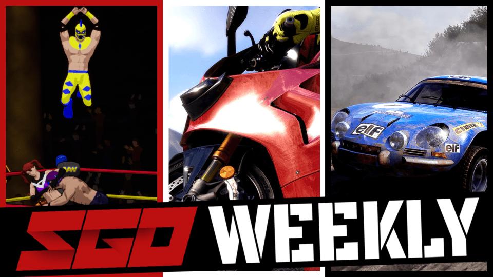 SGO Weekly Action Arcade Wrestling RiMS Racing