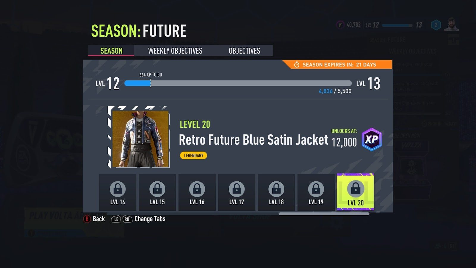 Volta seasons in FIFA 22