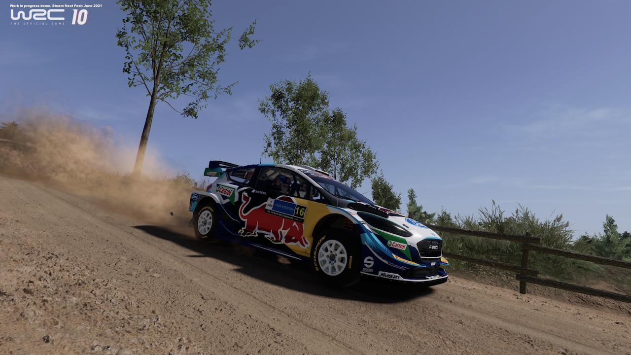 WRC 10 Gameplay Trailer
