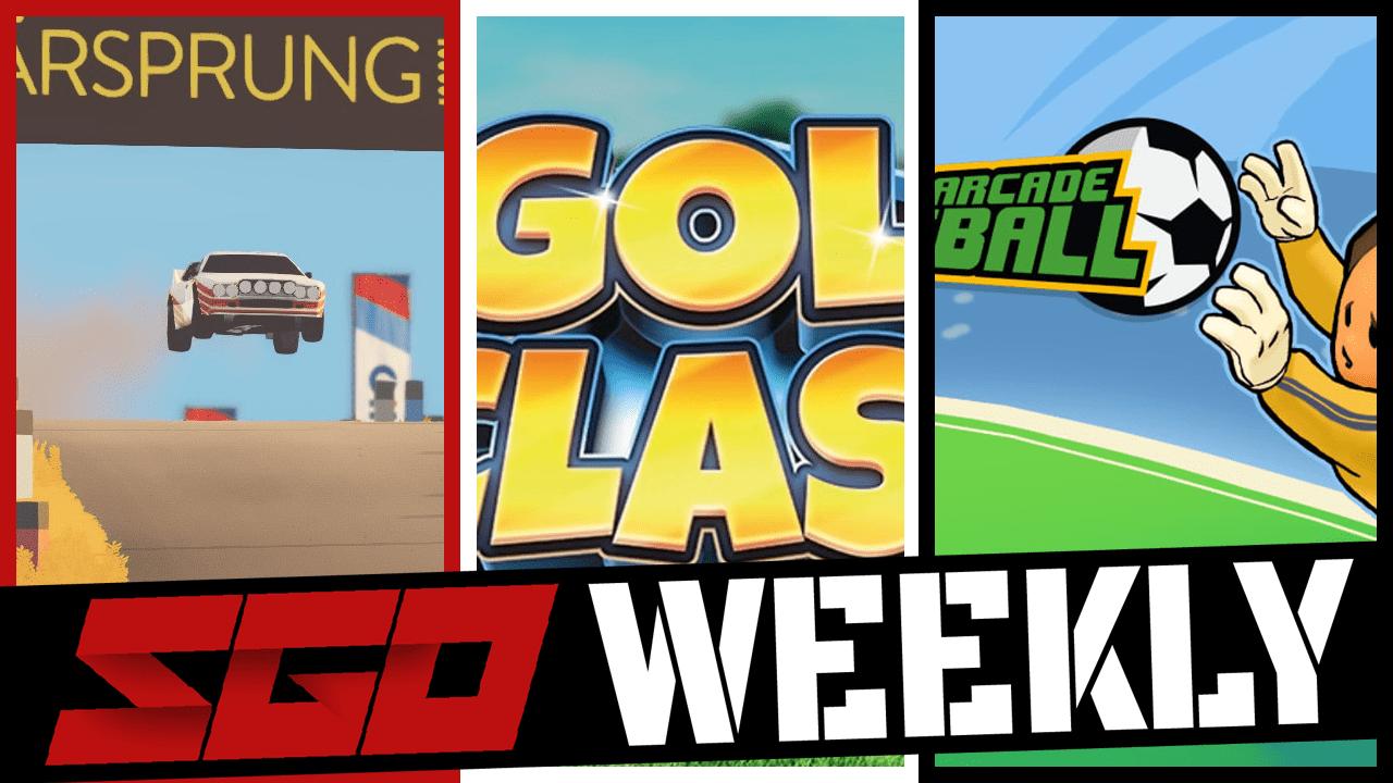 Super Arcade Football Golf Clash SGO Weekly