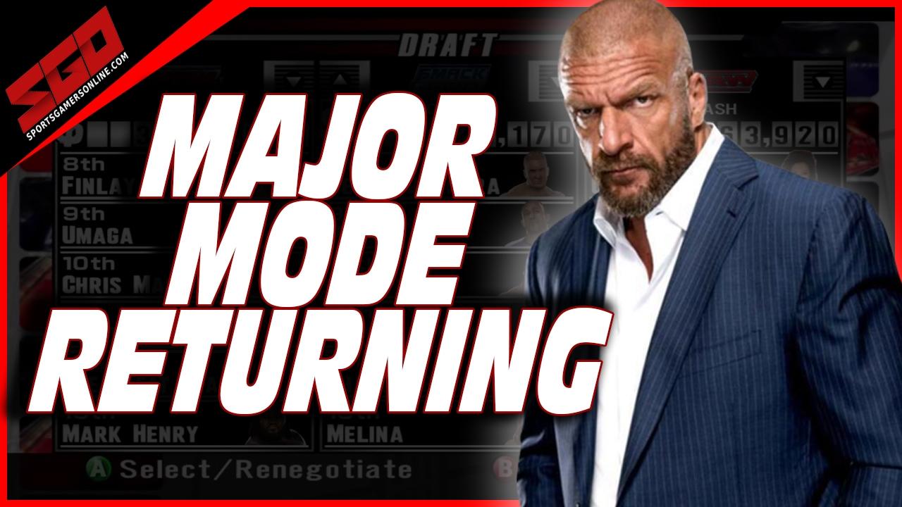 WWE 2K22 GM Mode