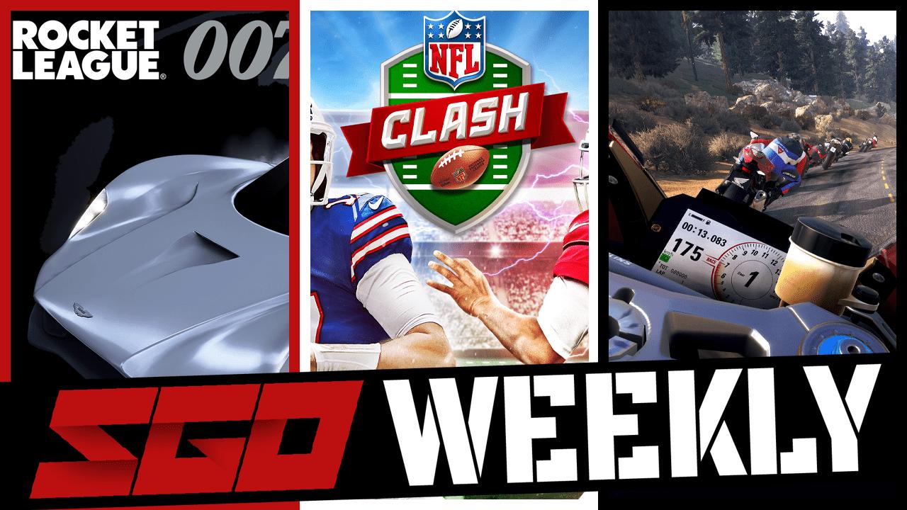 Rocket League NFL Clash SGO Weekly